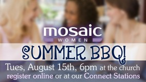 Mosaic Women's BBQ