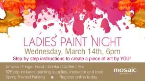 Mosaic Paint Night